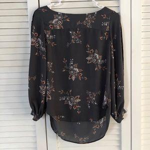 XXSP LOFT floral work blouse